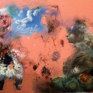 Mehrdad Khataei- Blue Rhino Art