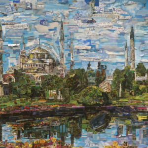 "Reading: ""The world in pieces"", in conversation with Vik Muniz"