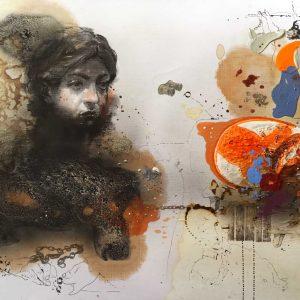 Mehrdad Khataei-Blue Rhino Art