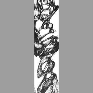 200x30cmpencil-on-paper2002