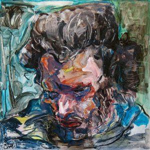 acrylic, figurative, Ehsan Armand