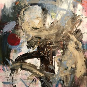 Ian smith, acrylic, abstract, large