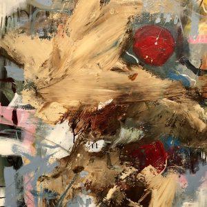 Ian smith, acrylic, large, abstract