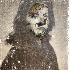 Maliheh Zafarnezhad, photomontage, mixed media, medium, photo transfer, surrealism
