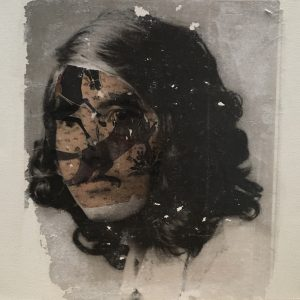 Maliheh Zafarnezhad, photo transfer, medium, surrealism