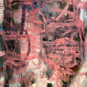 Ian smith, large, abstract, acrylic