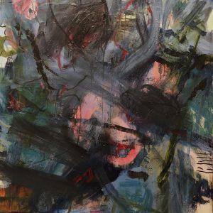 Ian smith, abstract, acrylic, large