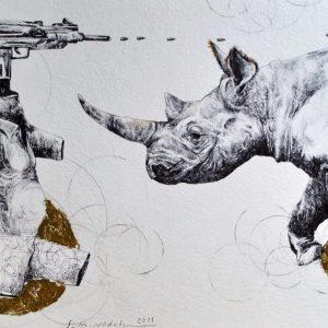 saeed nodehi, mixed media, figurative, surreal, 2011, medium
