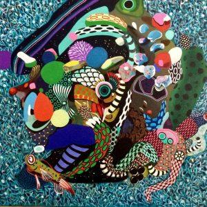 Levent Oyluçtarhan, medium, 50x55, expressionism