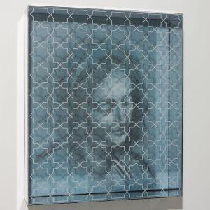 Romana manouchehri, acrylic, perspex and film, 2013