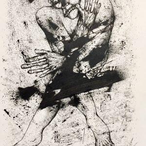 expressionism, modern, kiomars Kiasat, 2020, ink