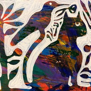 acrylic on canvas, figurative, 2020, reza Hedayat, expressionism
