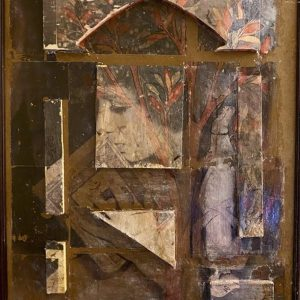 Maliheh zafarnezhad, photo transfer, collage, modern