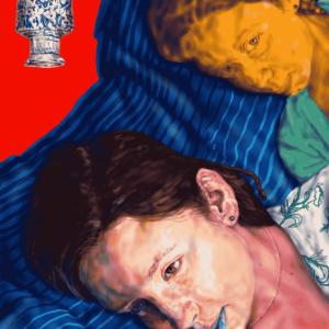 2020, Parsa Mostaghim, mixed media, figurative, digital, 20120