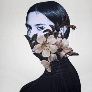 conceptual, modern, naghmeh nabavi, untitled mixed media print, 2020