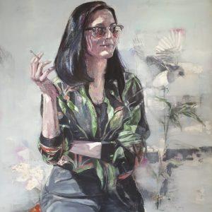 oil on canvas, untitled, 2018, selahattin aydin