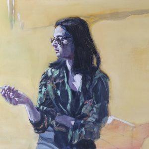 oil on canvas, untitled, 2016, selahattin aydin