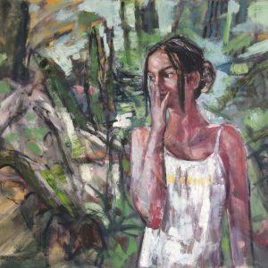 oil on canvas, untitled, 2020, selahattin aydin