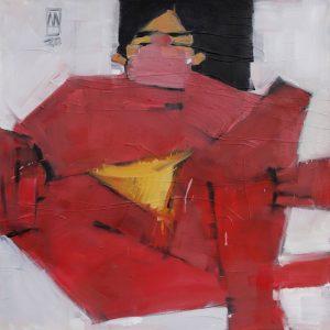 Anastasiia Danilenko, oil, expressionism, figurative
