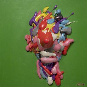 Salman Khoshroo, pigmented polyurethane, conceptualism