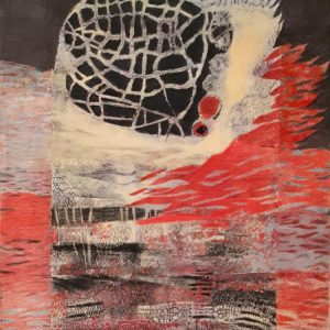 Graphite, pastel, acrylic markers, Katarina Dordevic, 2019