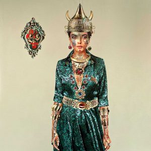 Solmaz tohidloo, modern, acrylic, figurative, 2020
