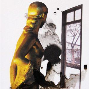 Elif Celebi, mixed media, conceptualism, interior design, 2020