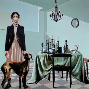 Solmaz tohidloo, modern, acrylic, figurative, 2021